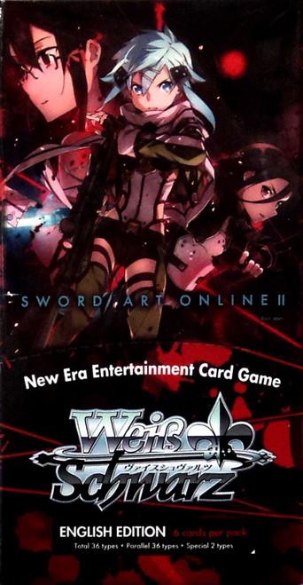Weiss Schwarz Sword Art Online II Extra Booster Box [6 Packs]