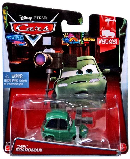 """Disney / Pixar Cars Lost and Found """"Dash"""" Boardman Diecast Car #5/8"""