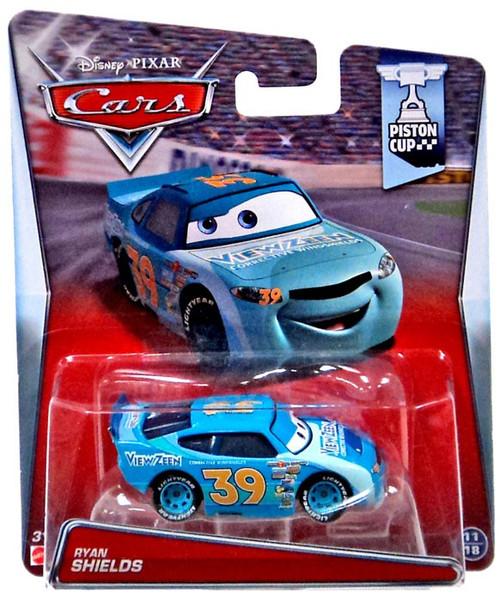 Disney / Pixar Cars Piston Cup Ryan Shields Diecast Car #11/18