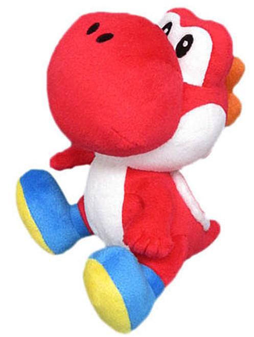 Super Mario Bros Yoshi 8-Inch Plush [Red]