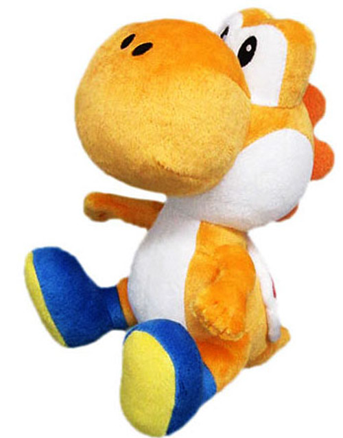 Super Mario Bros Yoshi 8-Inch Plush [Orange]