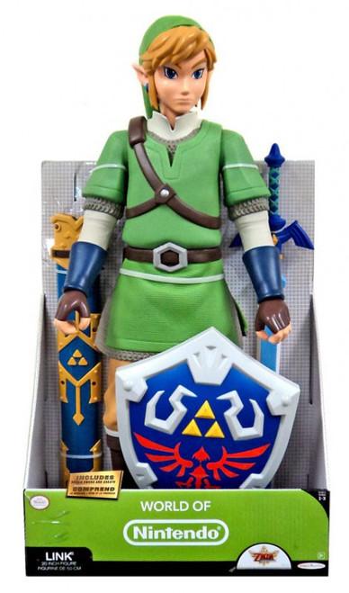 World of Nintendo Legend of Zelda Link 20-Inch Big Deluxe Figure