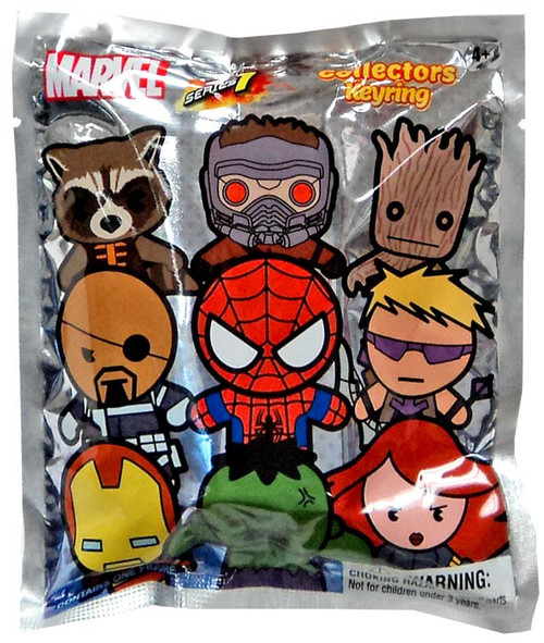 3D Figural Keyring Marvel Series 1 Mystery Pack