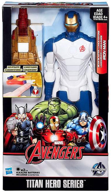 Marvel Avengers Titan Hero Series Beam Blaster Iron Man Exclusive Action Figure