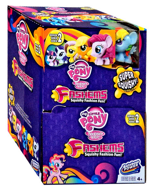 Friendship is Magic My Little Pony Fash'Ems Series 2 Mystery Box [35 Packs]