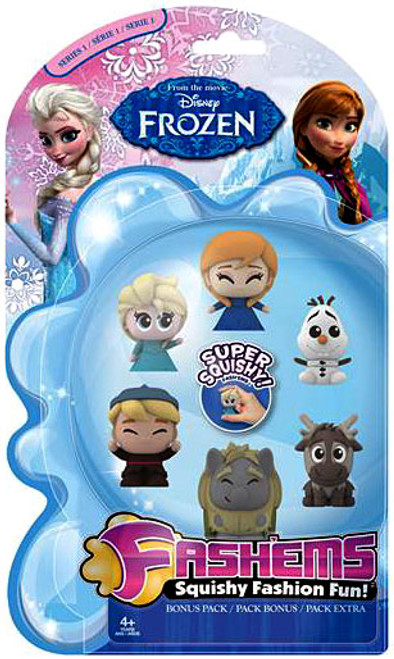 Disney Frozen Frozen Fash'Ems Mini Figure 6-Pack