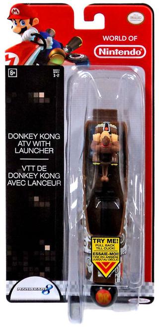 World of Nintendo Mario Kart 8 Donkey Kong ATV with Launcher
