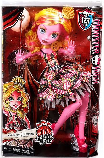 Monster High Freak Du Chic Gooliope Jellington 17-Inch Doll