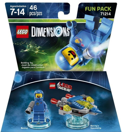 LEGO Dimensions The LEGO Movie Benny & Spaceship Fun Pack #71214