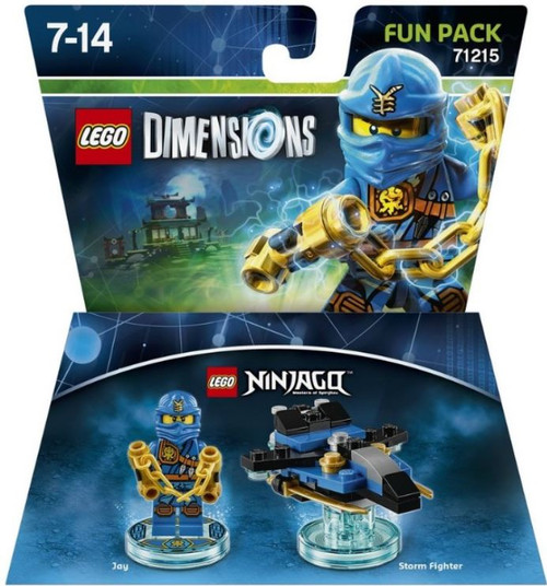 LEGO Dimensions Ninjago Jay & Storm Fighter Exclusive Fun Pack #71215