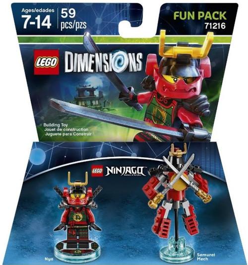 LEGO Dimensions Ninjago Nya & Samurai Mech Fun Pack #71216