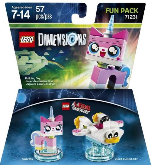 LEGO Dimensions The LEGO Movie Unikitty & Cloud Cuckoo Car Fun Pack #71231