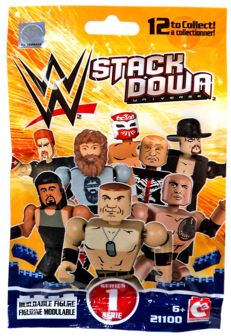 WWE Wrestling C3 Construction WWE StackDown Series 1 Mystery Pack #21100