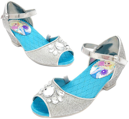 Disney Frozen Elsa Sparkle Shoes for Girls [US Size 7]
