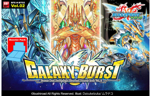 Future Card BuddyFight 100 Hundred Galaxy Burst Vol.02 Booster Box BFE-H-BT02 [30 Packs]