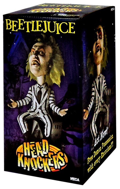 NECA Head Knockers Beetlejuice Bobble Head