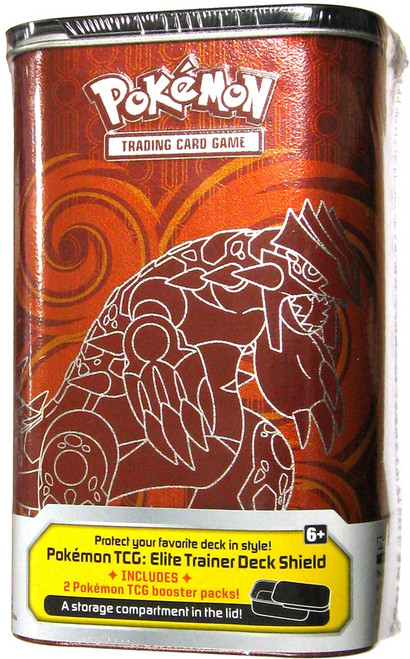 Pokemon Trading Card Game Primal Groudon & Primal Kyogre Elite Trainer Deck Shield [2 Booster Packs]
