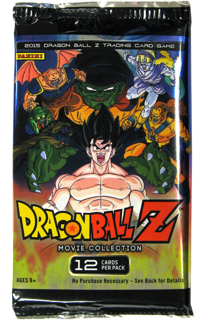 Dragon Ball Z Collectible Card Game Movie Collection Booster Pack [12 Cards]
