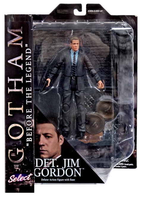 DC Gotham Lt. Jim Gordon Action Figure