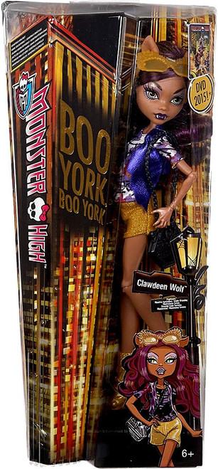 Monster High Boo York Clawdeen Wolf 10.5-Inch Doll