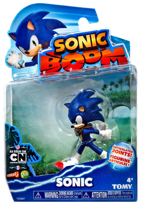 Sonic The Hedgehog Sonic Boom Sonic Action Figure #22007 [Teeth Showing]