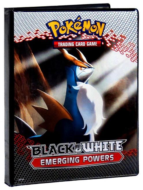 Ultra Pro Pokemon Black & White Card Supplies Emerging Powers 4-Pocket Binder