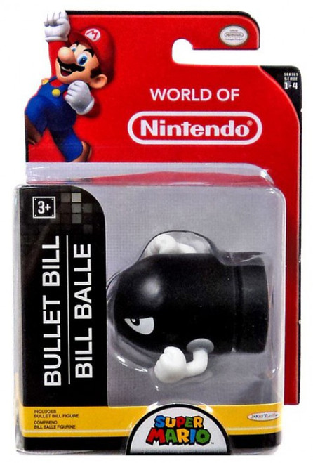 World of Nintendo Super Mario Bullet Bill 2.5-Inch Mini Figure