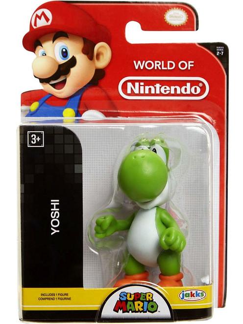 World of Nintendo Super Mario Yoshi 2.5-Inch Mini Figure [Green]