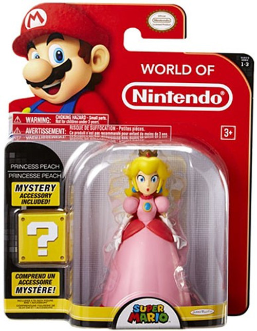 World of Nintendo Series 3 Princess Peach with Crown Action Figure