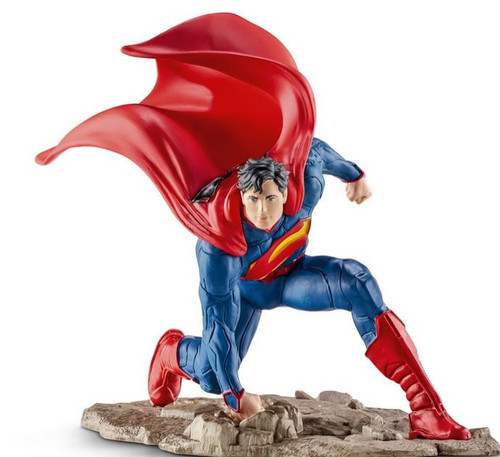 Justice League Superman Mini Figure [Kneeling]