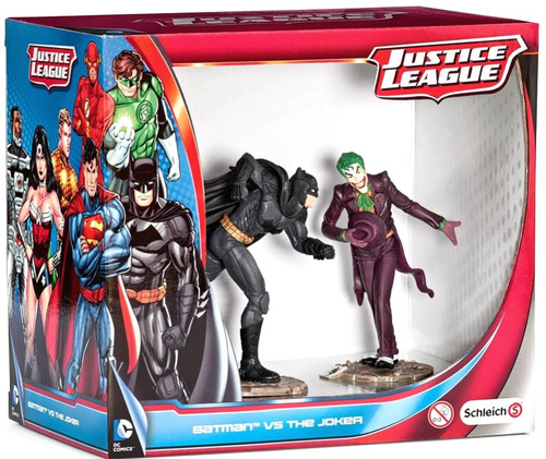 Justice League Batman vs The Joker Mini Figure 2-Pack