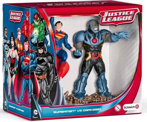 Justice League Superman vs Darkseid Mini Figure 2-Pack