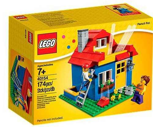 LEGO Exclusives Pencil Pot House Set #40154