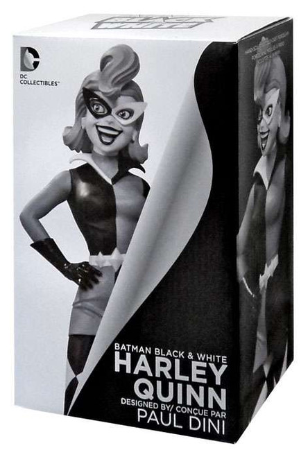 Batman Black & White Harley Quinn 7-Inch Statue [Paul Dini 1st Edition]