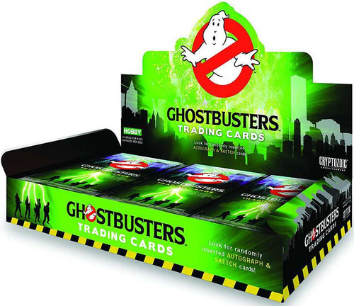 Ghostbusters Trading Card HOBBY Box [24 Packs]