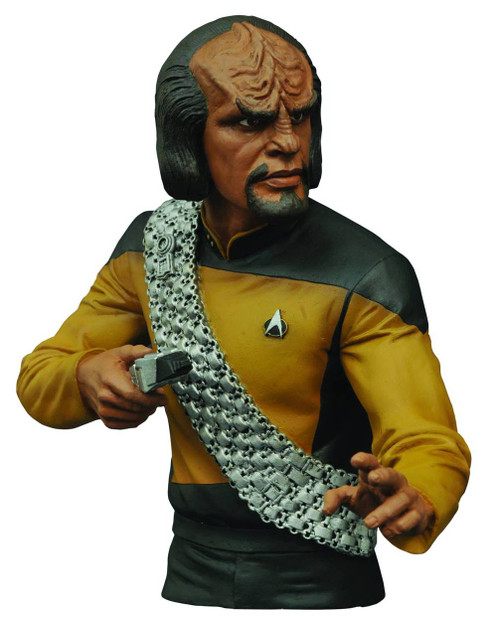 Star Trek: The Next Generation Worf 7-Inch Bust Bank