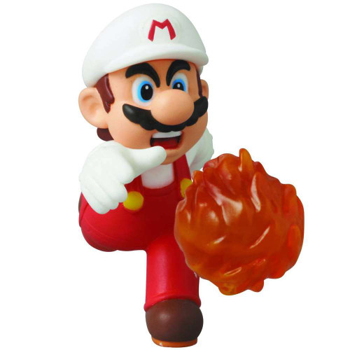 New Super Mario Bros U UDF Series 2 Fire Mario 2.5-Inch Figure