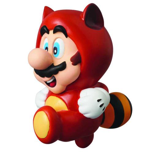 Super Mario Bros 3 UDF Series 1 Tanuki Mario 2.5-Inch Figure