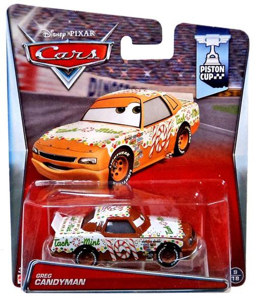 Disney / Pixar Cars Piston Cup Greg Candyman Diecast Car #9/18