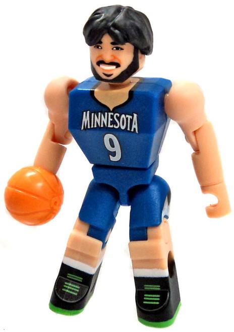 NBA Minnesota Timberwolves C3 Construction Ricky Rubio 2.3-Inch Minifigure [Loose]