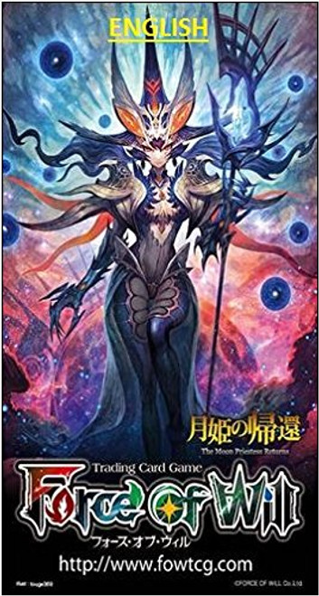 Force of Will Grimm Cluster The Moon Priestess Returns Booster Pack