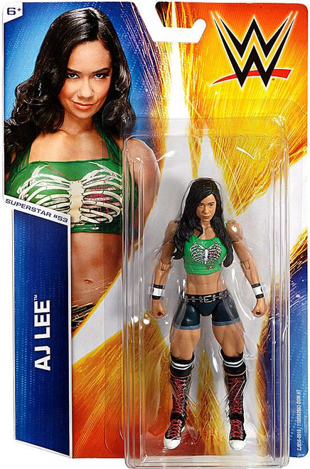 WWE Wrestling Series 53 AJ Lee Action Figure #53