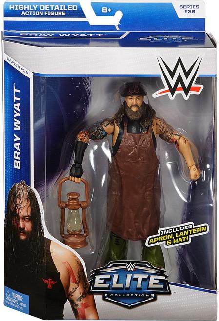 WWE Wrestling Elite Collection Series 36 Bray Wyatt Action Figure [Apron, Lantern & Hat]
