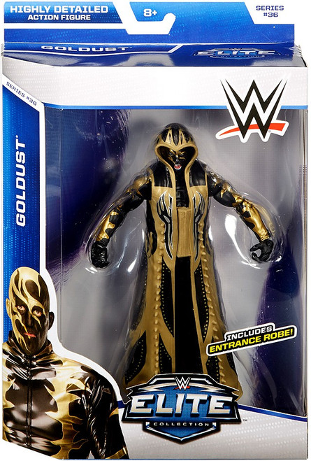 WWE Wrestling Elite Collection Series 36 Goldust Action Figure [Entrance Robe]