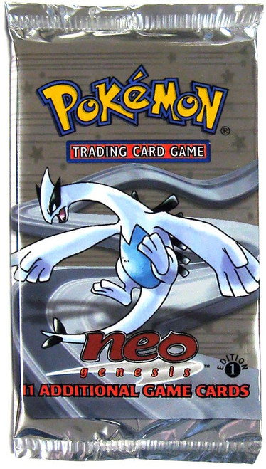 Pokemon Trading Card Game Neo Genesis Booster Pack [1st Edition, 11 Cards]