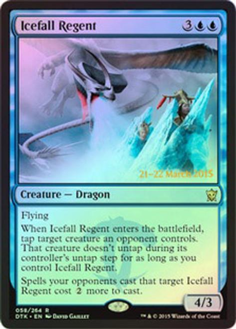 MtG Prerelease & Release Promo Icefall Regent [Dragons of Tarkir Prerelease]