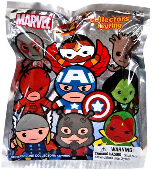 3D Figural Keyring Marvel Series 2 Mystery Pack