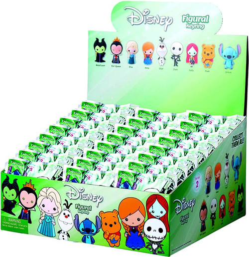 3D Figural Keyring Disney Series 2 Mystery Box [24 Packs]