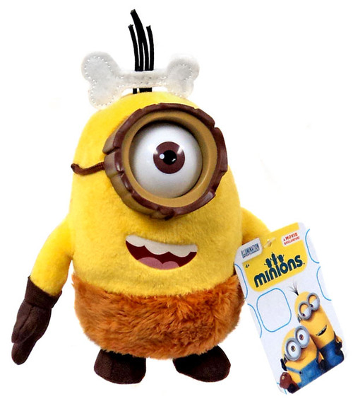 Despicable Me Minions Movie Caveman Minion 5-Inch Plush [Cro-Minion]