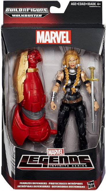 Marvel Legends Avengers Hulkbuster Series Valkyrie Action Figure [Marvel's Defenders]